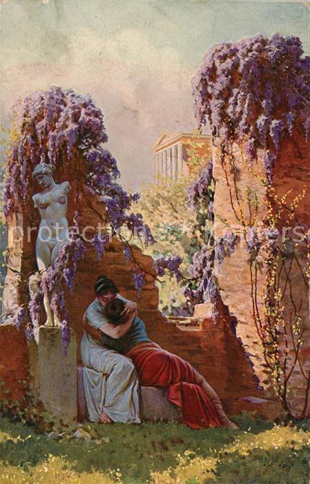 AK / Ansichtskarte Kuenstlerkarte A. Liebscher Rimska laska Roemische Liebe  Kuenstlerkarte