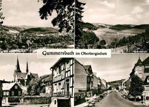 AK / Ansichtskarte Gummersbach Aggertalsperre Kaiserstrasse Gummersbach Schoeppenstuhl Gummersbach