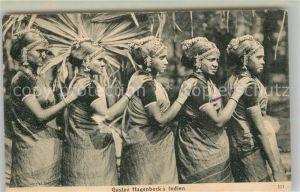 AK / Ansichtskarte Hagenbeck Indien Frauen  Hagenbeck