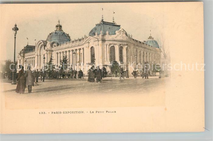AK / Ansichtskarte Paris Exposition Le Petit Palais Paris