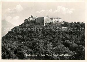 AK / Ansichtskarte Montecassino Lato Nord Ovest dell Abbazia Montecassino