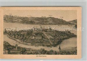 AK / Ansichtskarte Alt_Reichenau nach einem alten Stich Kuenstlerkarte
