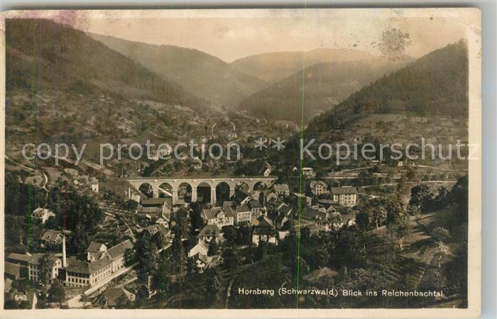 AK / Ansichtskarte Hornberg_Schwarzwald Viadukt Reichenbachtal Hornberg Schwarzwald