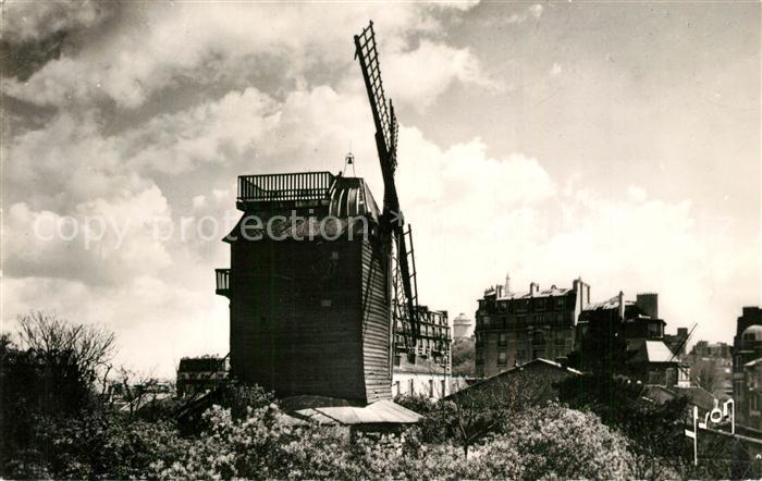 AK / Ansichtskarte Paris Moulin de la Galette Paris