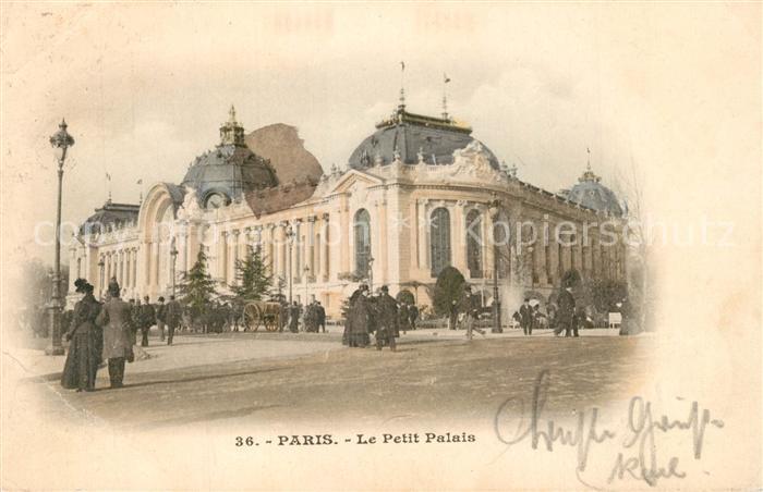 AK / Ansichtskarte Paris Le Petit Palais Paris