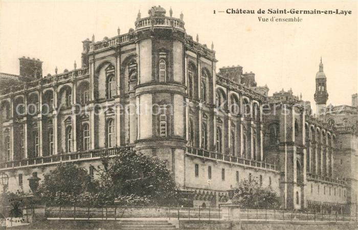 AK / Ansichtskarte Saint Germain en Laye Chateau de Saint Germain en Laye Saint Germain en Laye