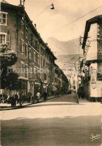 AK / Ansichtskarte Albertville_Savoie Rue Gambetta el L`Eglise Albertville_Savoie