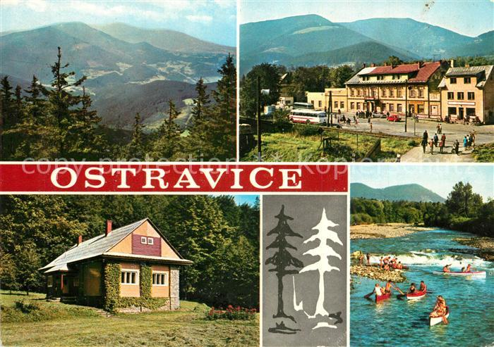 AK / Ansichtskarte Ostravice Lyse hory  Ostravice