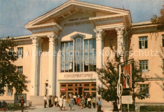 AK / Ansichtskarte Tashkent Theater Tashkent