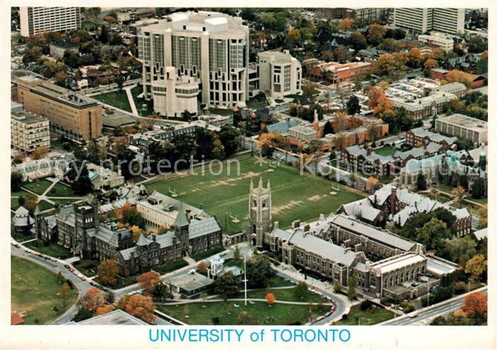 AK / Ansichtskarte Toronto_Canada Fliegeraufnahmef University Toronto Canada