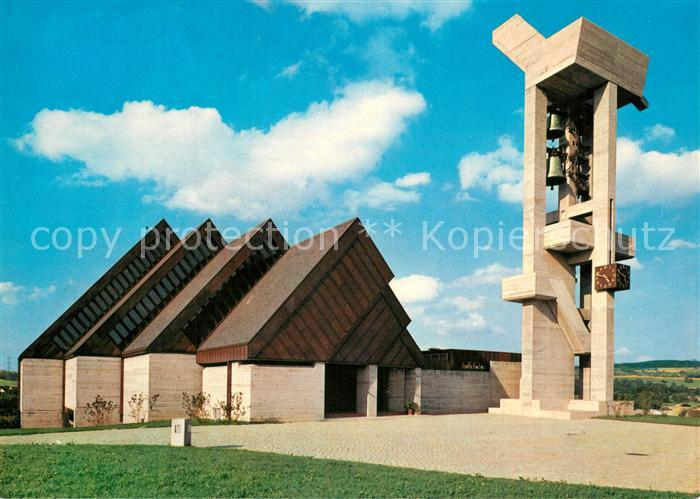 AK / Ansichtskarte Effretikon Kirche Architekt Ernst Gisel Effretikon