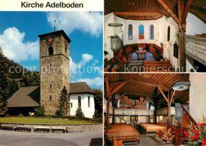 AK / Ansichtskarte Adelboden Kirche  Adelboden