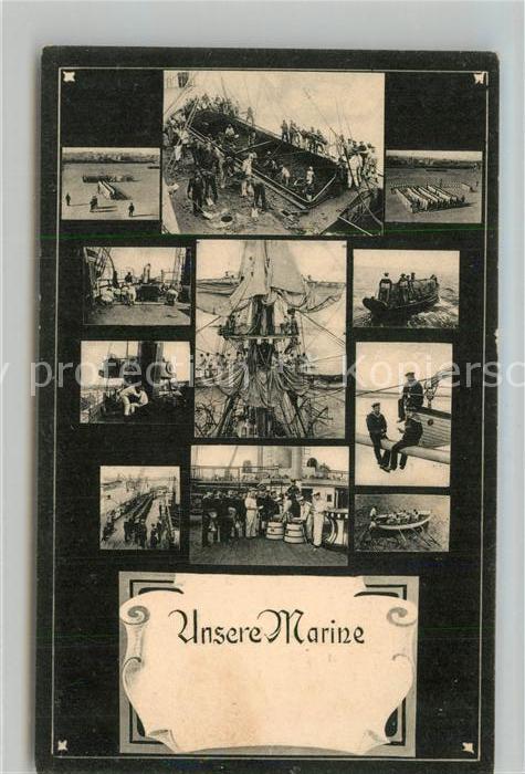 AK / Ansichtskarte Marine Deutschland  Marine