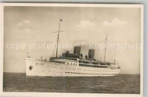 AK / Ansichtskarte Dampfer_Oceanliner Roland Norddeutscher Lloyd Bremen Dampfer Oceanliner