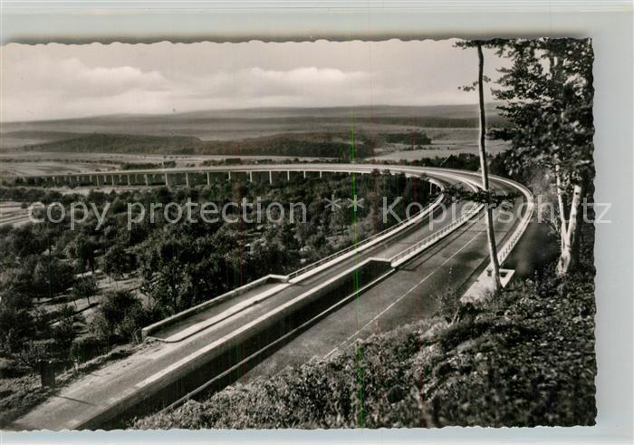 AK / Ansichtskarte Autobahn Viadukt Aichelberg Autobahn