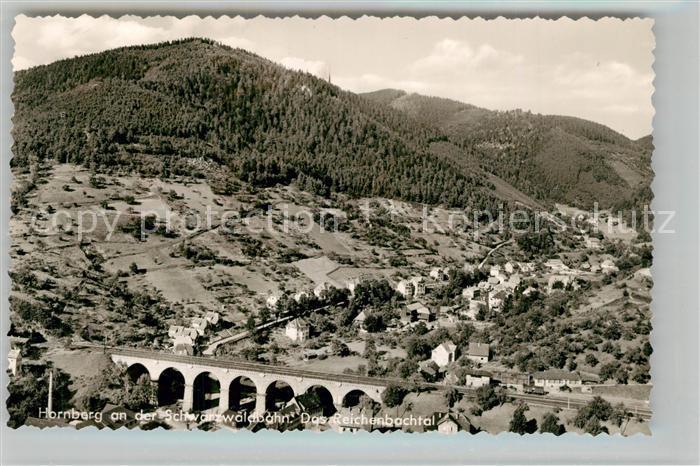 AK / Ansichtskarte Hornberg_Schwarzwald Reichenbachtal Viadukt Hornberg Schwarzwald