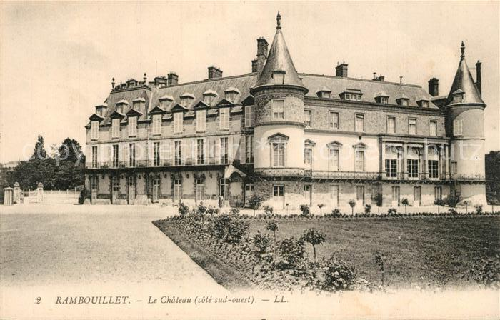 AK / Ansichtskarte Rambouillet Le Chateau Rambouillet