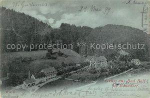 AK / Ansichtskarte Bad_Boll_Bonndorf Panorama Schwarzwald im Mondschein