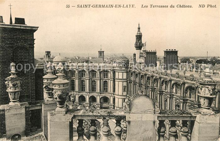 AK / Ansichtskarte Saint Germain en Laye Les Terrasses du Chateau Saint Germain en Laye