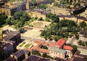 AK / Ansichtskarte Lublin Fliegeraufnahme Plac Litewski Lublin