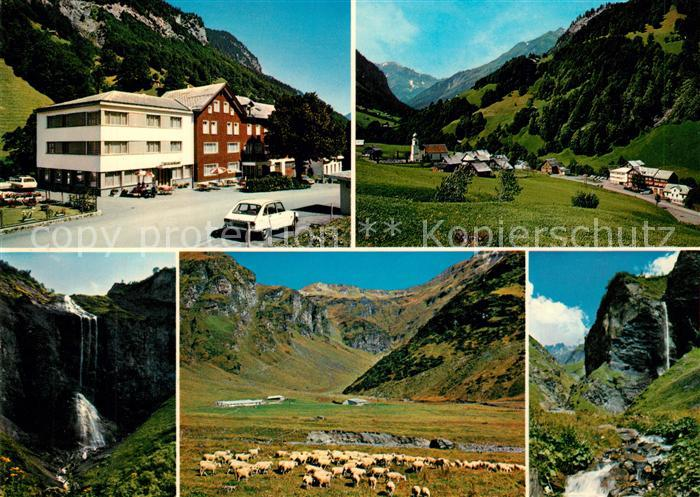 AK / Ansichtskarte Weisstannen Hotel Gemse Panoramen  Weisstannen