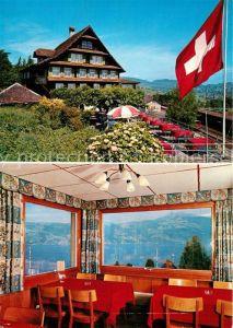 AK / Ansichtskarte Immensee Hotel Restaurant Bahnhof Immensee