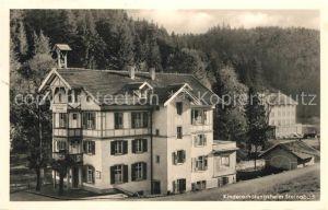 AK / Ansichtskarte Steinabad Kindererholungsheim im Schwarzwald Steinabad