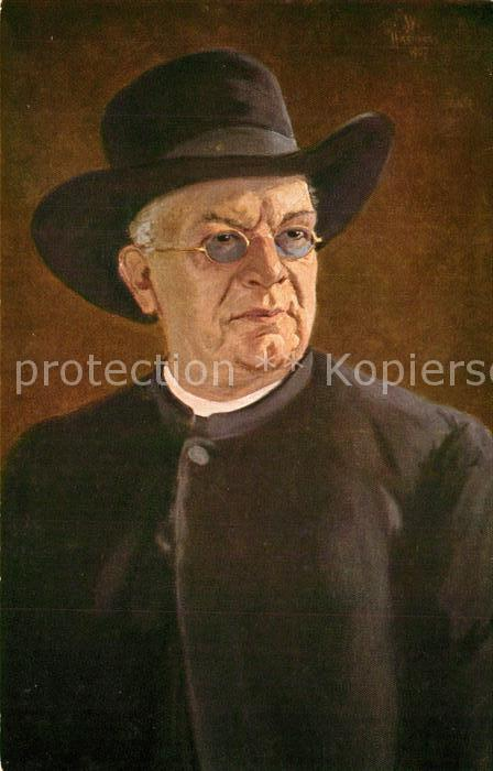 AK / Ansichtskarte Hasemann_W. Pfarrer Dr. H. Hansjakob  Hasemann W.