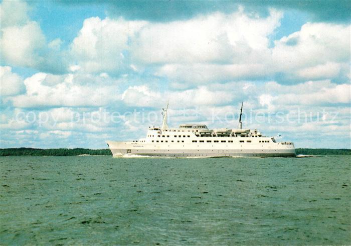 AK / Ansichtskarte Schiffe_Ships_Navires M S Nordia Silja Line  Schiffe_Ships_Navires