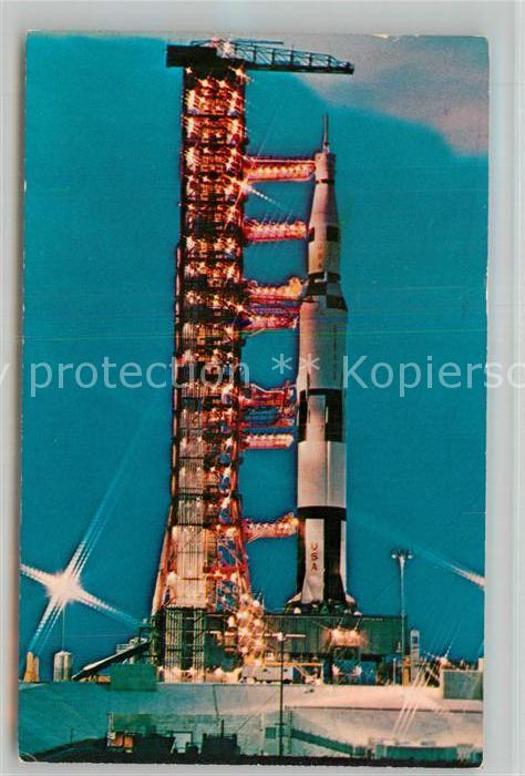 AK / Ansichtskarte Raumfahrt Saturn 365 Apollo Saturn V John F. Kennedy Space Center NASA  Raumfahrt