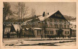 AK / Ansichtskarte Oberschlema_Erzgebirge Radiumbad Erzgebirgischer Hof Oberschlema_Erzgebirge