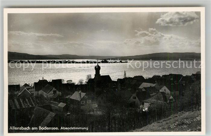 AK / Ansichtskarte Allensbach_Bodensee Abendstimmung Allensbach_Bodensee 0