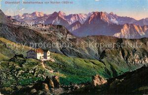 AK / Ansichtskarte Oberstdorf Nebelhornhaus von Norden Oberstdorf