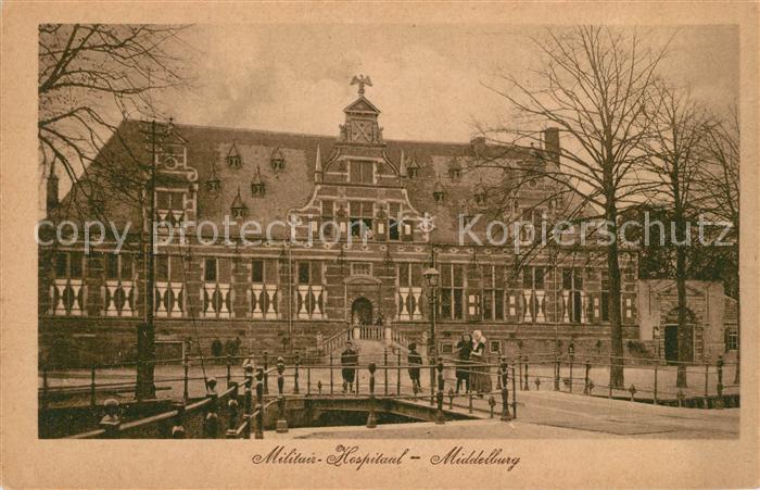 AK / Ansichtskarte Middelburg_Zeeland Militair Hospitaal Middelburg_Zeeland