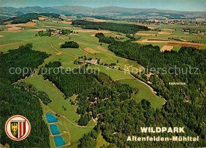 AK / Ansichtskarte Altenfelden_Oberoesterreich Fliegeraufnahme Wildpark Rabenstein Altenfelden