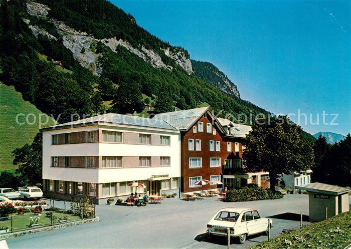 AK / Ansichtskarte Weisstannen Hotel Gemse Weisstannen