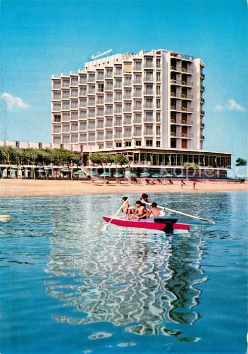 AK / Ansichtskarte Montesilvano Grand Hotel Mediterraneo Spiaggia  Montesilvano