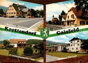 AK / Ansichtskarte Gaisfeld_Krottendorf Gasthaus Dreimaederlhaus Trafik Lorber Gasthaus Wonisch Gaisfeld Krottendorf
