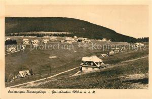 AK / Ansichtskarte Sudetengau Riesengebirge Grenzbauden Sudetengau