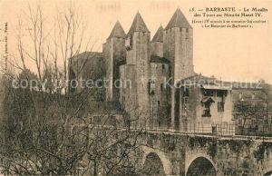 AK / Ansichtskarte Barbaste Le Moulin des Tours au Moulin Henri IV Barbaste