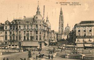 AK / Ansichtskarte Antwerpen_Anvers Canal au Sucre Antwerpen Anvers