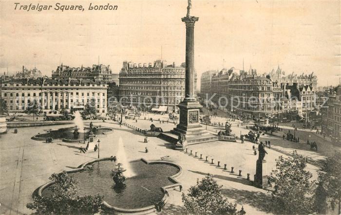 AK / Ansichtskarte London Trafalger Square London