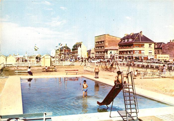 AK / Ansichtskarte Cayeux sur Mer Piscine et Jardin Schwimmbad Cayeux sur Mer