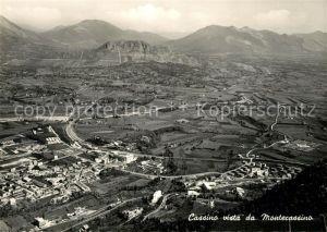 AK / Ansichtskarte Cassino Vista da Montecassino Cassino