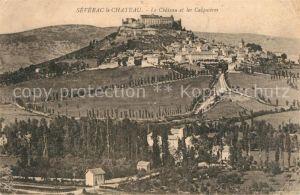 AK / Ansichtskarte Severac le Chateau Le Chateau et les Calquieres Severac le Chateau