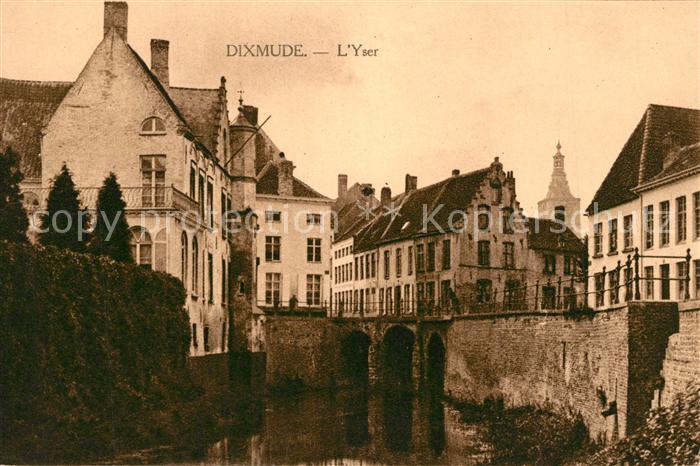 AK / Ansichtskarte Dixmude Yser Dixmude
