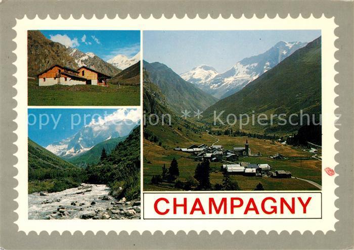 AK / Ansichtskarte Champagny en Vanoise En Tarnteise Champagny en Vanoise
