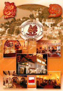 AK / Ansichtskarte Kazimierz_Dolny Hotel Restaurant Piekarnia Sarzynski Kazimierz Dolny
