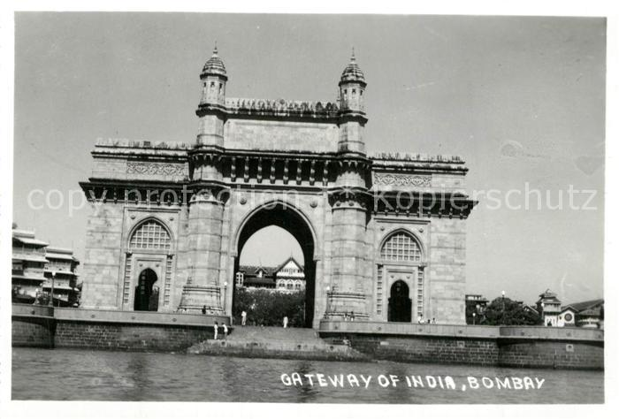 AK / Ansichtskarte Bombay_Mumbai Gateway India Bombay Mumbai