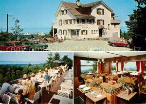 AK / Ansichtskarte St_Gallen_SG Wildpark Restaurant Peter und Paul St_Gallen_SG